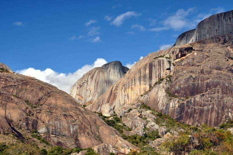 Madagaskar-Landschaft stockbilder