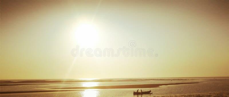 Madagaskar-Sonnenuntergang lizenzfreie stockbilder
