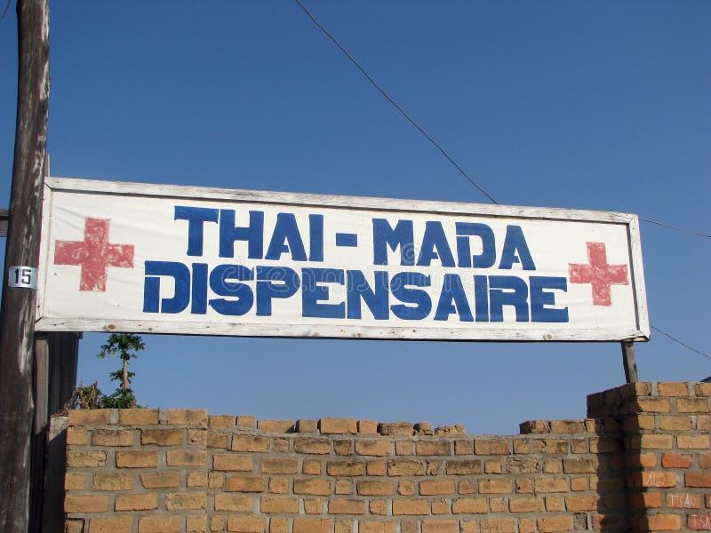Madagassische Apotheke stockbilder