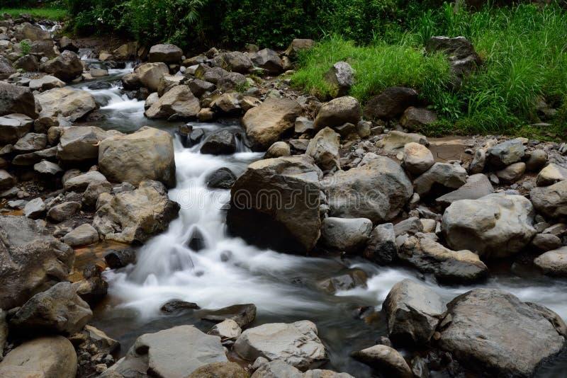 Madakaripura瀑布,苏拉巴亚,印度尼西亚 库存照片
