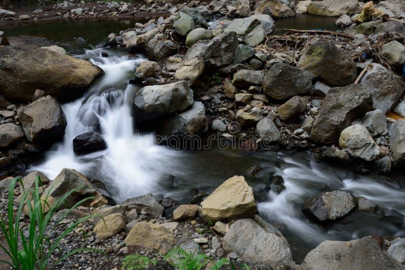 Madakaripura-Wasserfall, Surabaya, Indonesien lizenzfreies stockbild
