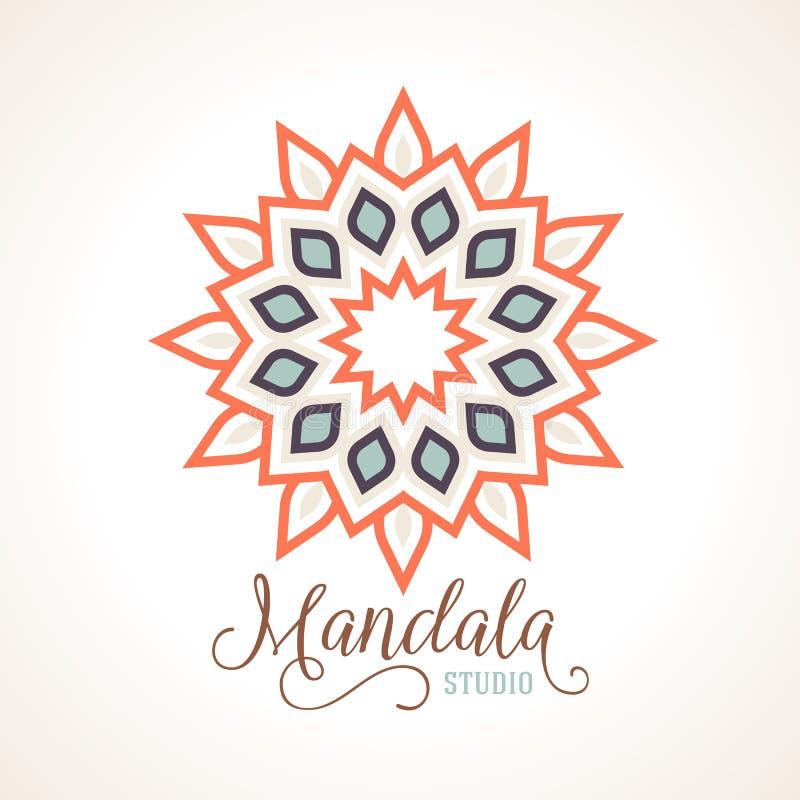 Madala вектора, круглый орнамент бесплатная иллюстрация