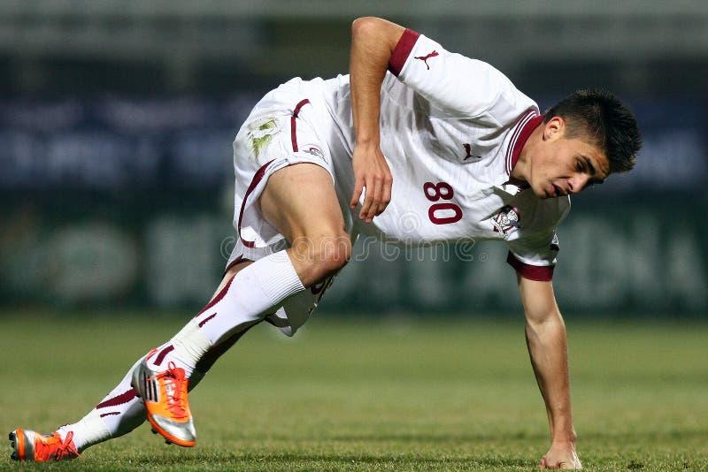 FC迅速布加勒斯特- FC Dinamo布加勒斯特 免版税库存图片