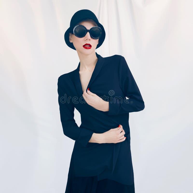 Madame élégante Type de mode photos libres de droits