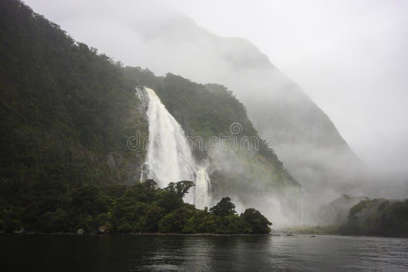 Madame Bowen Falls image stock
