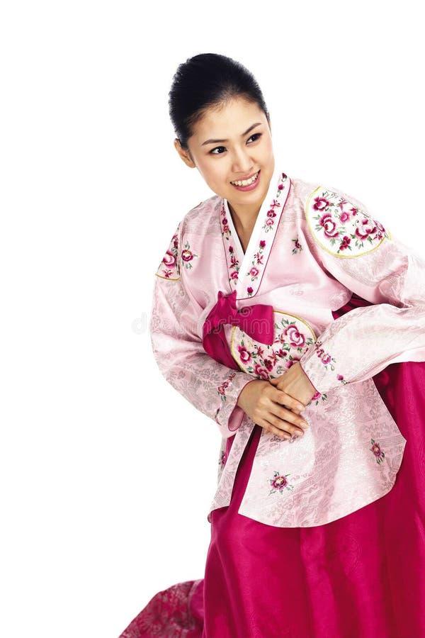 Madame coréenne photographie stock libre de droits