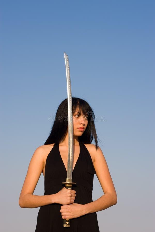 Madame d'épée photos stock