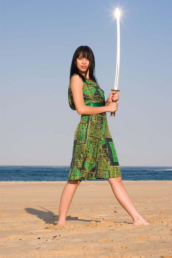 Madame d'épée photo libre de droits
