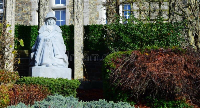 Madame de Bastogne image libre de droits