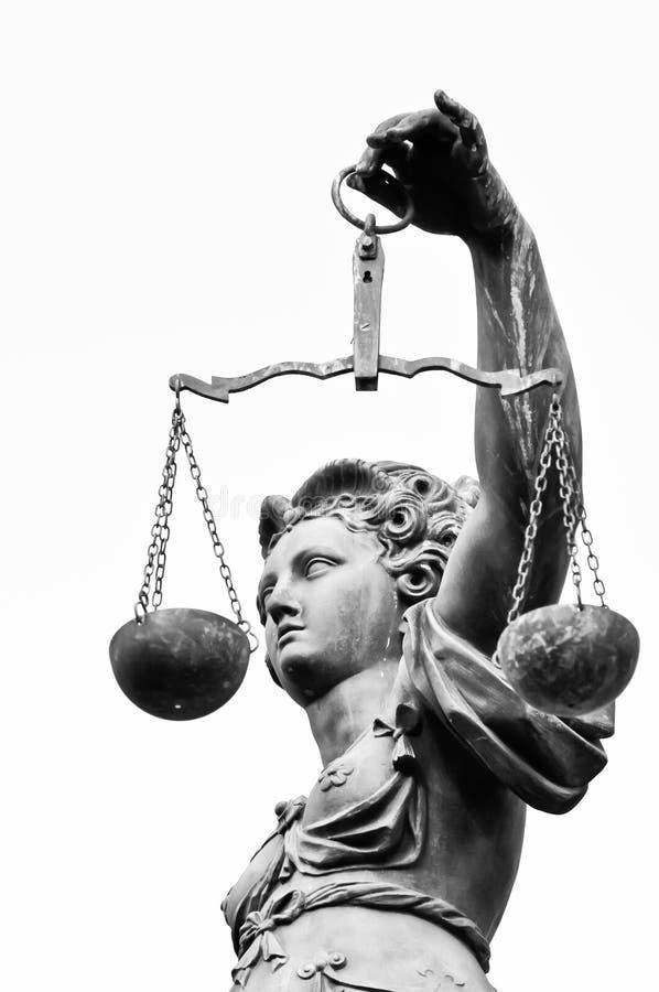 Madame de justice photographie stock libre de droits