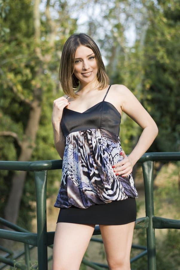 Madame en nature photos stock