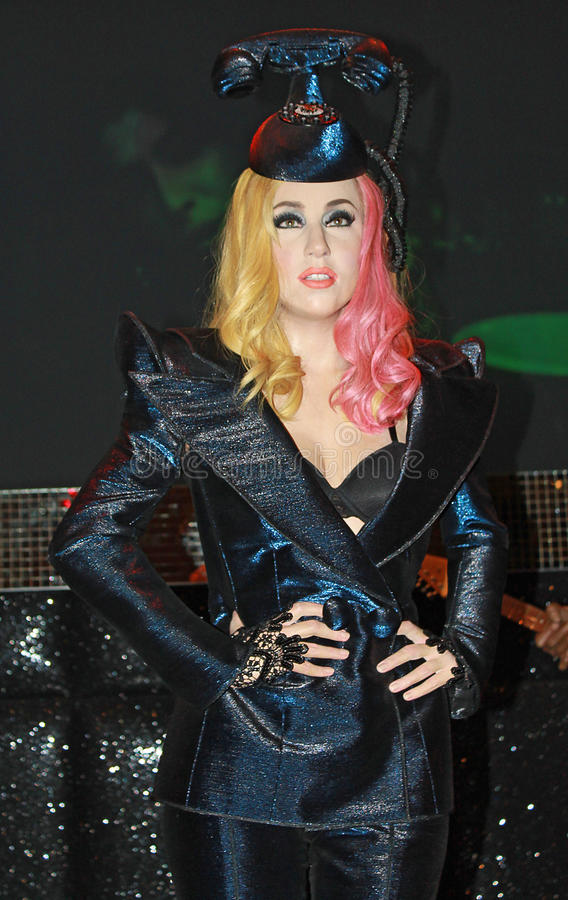 Madame Gaga images libres de droits