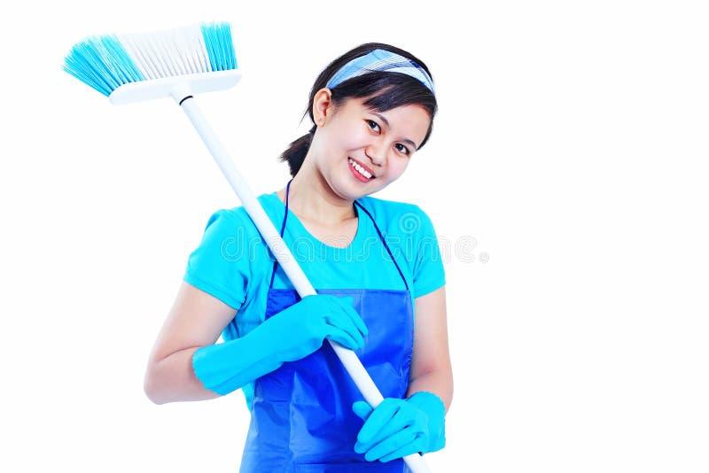 Madame Housekeeper photos libres de droits