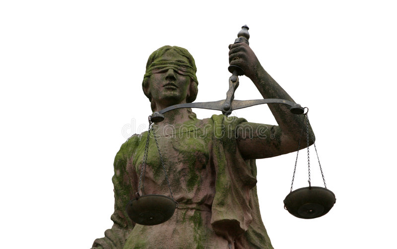Madame Justice Portrait photo libre de droits