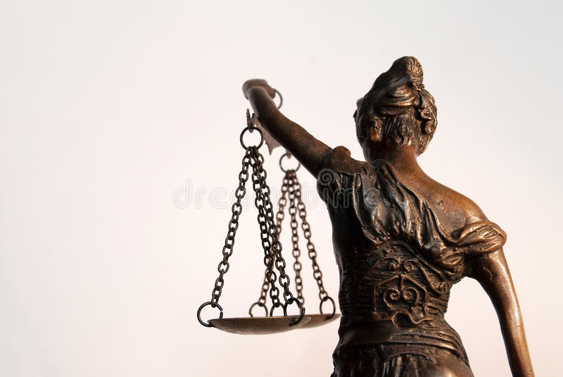Madame Justice - Temida - Themis photo stock