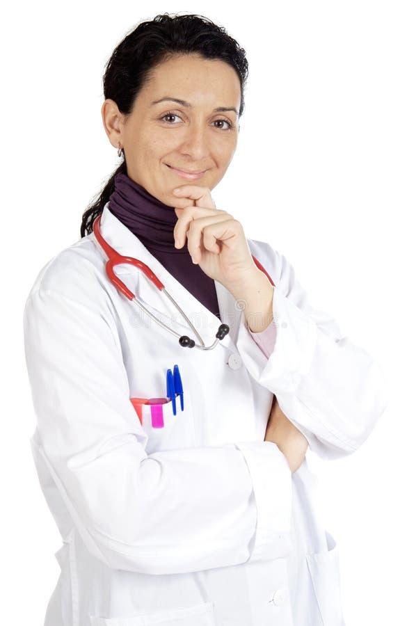 Madame le docteur photographie stock