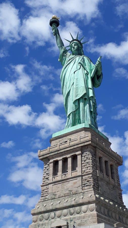 Madame Liberty Île de Liverty images libres de droits