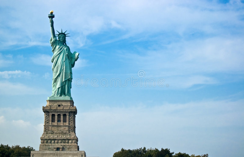 Madame Liberty photographie stock libre de droits