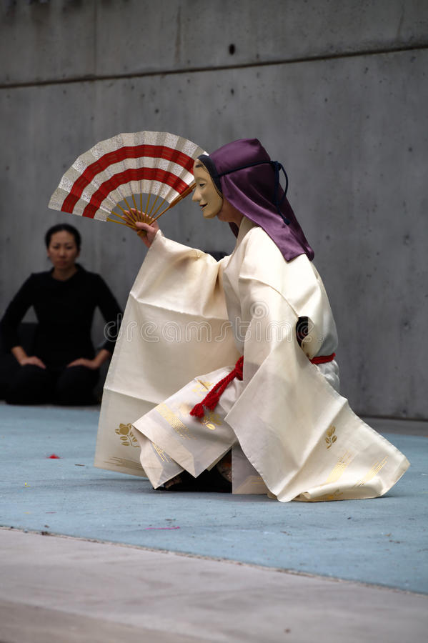 Madame Rokujo de Noh-Théâtre   photo libre de droits