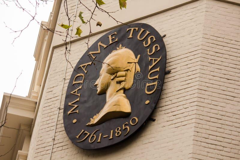 Madame Tussaud Londyn zdjęcia royalty free