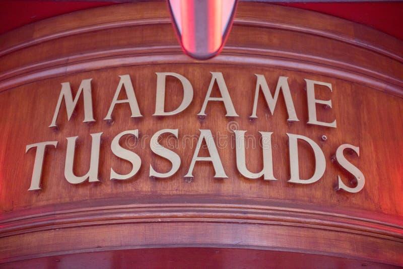 Madame Tussauds Museum, London lizenzfreies stockbild