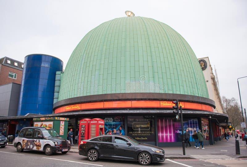 Madame Tussauds Museum, London stockfotos