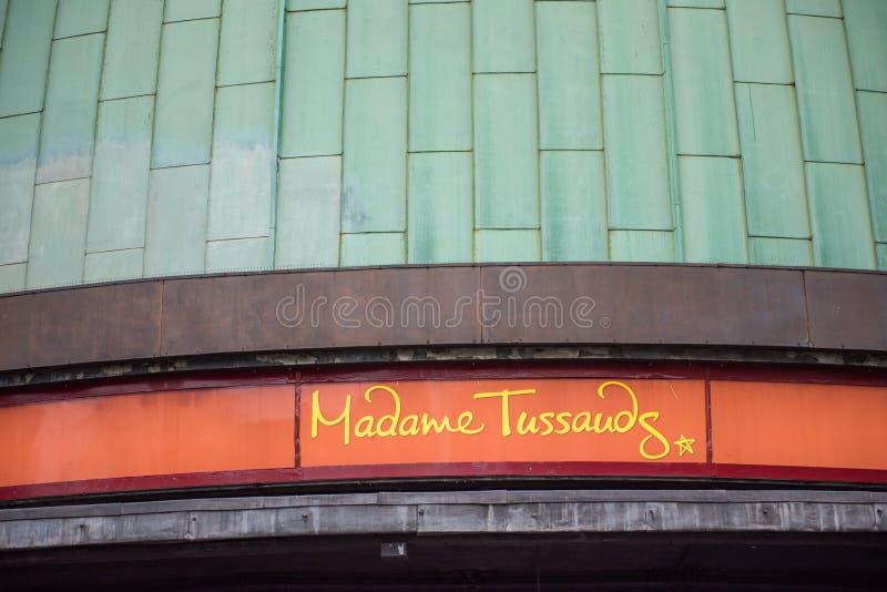 Madame Tussauds Museum, London lizenzfreie stockfotos