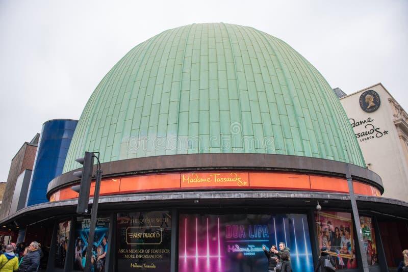 Madame Tussauds Museum, London lizenzfreies stockfoto