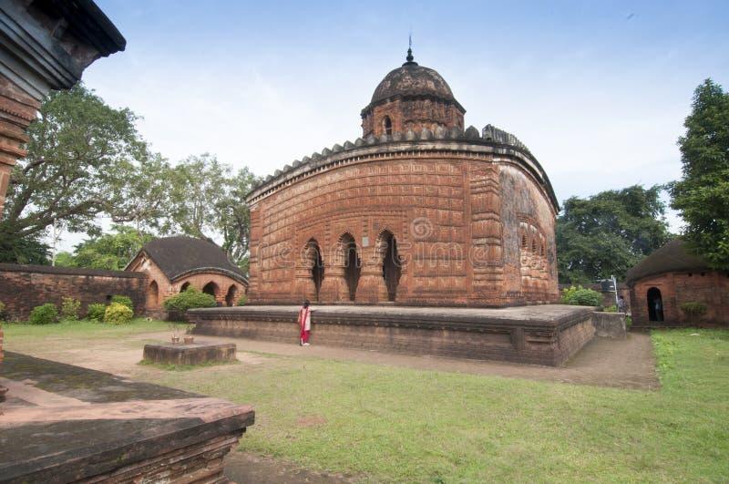 Madanmohan Temple, Bishnupur , India stock images