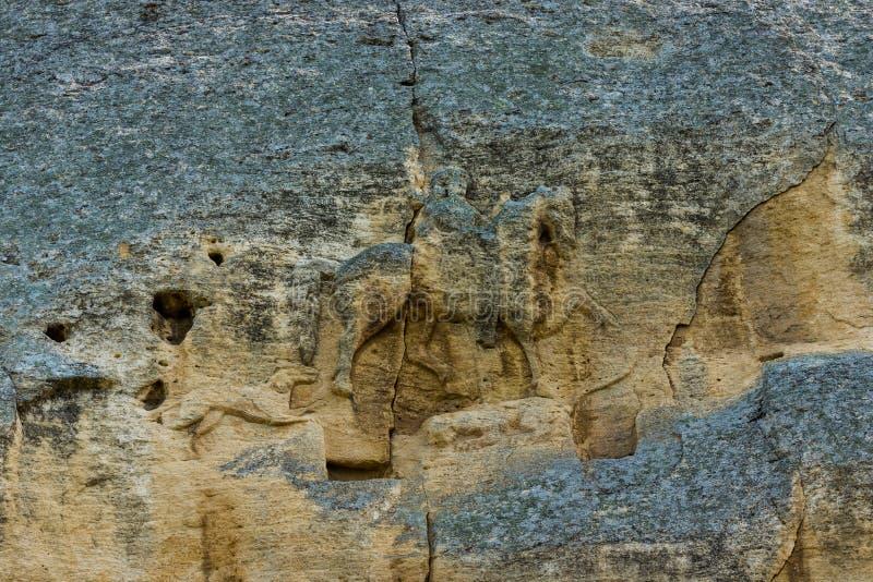 Madara Rider Horseman arkivbild