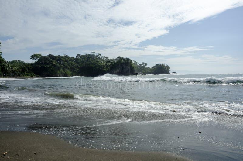 Madasari Beach. West Java - Indonesia stock images