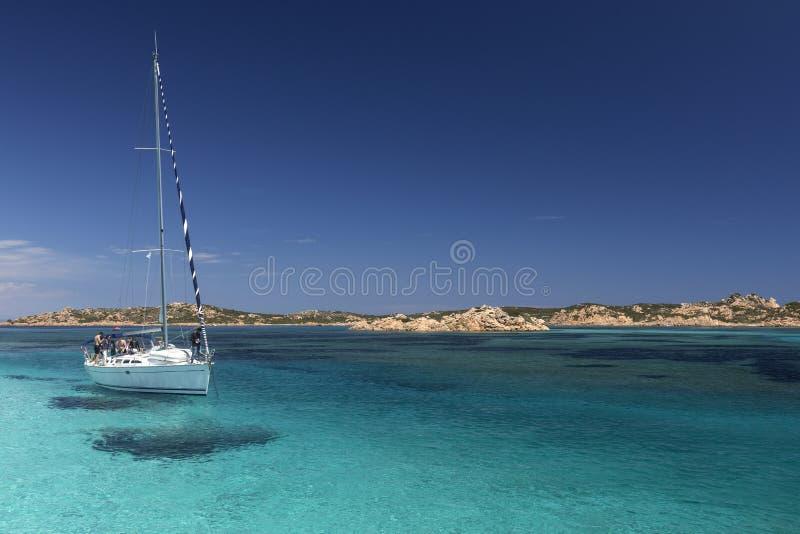 Maddalena Islands - Sardinige - Italië royalty-vrije stock afbeeldingen