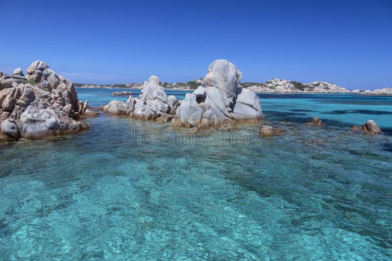 Maddalena Islands - Sardinige - Italië stock fotografie