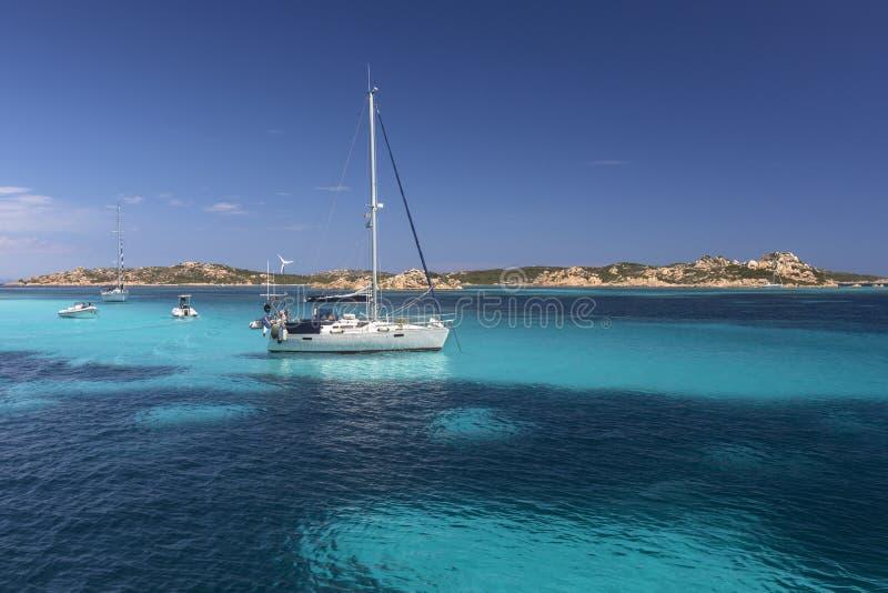Maddalena Islands - Sardinige - Italië royalty-vrije stock foto