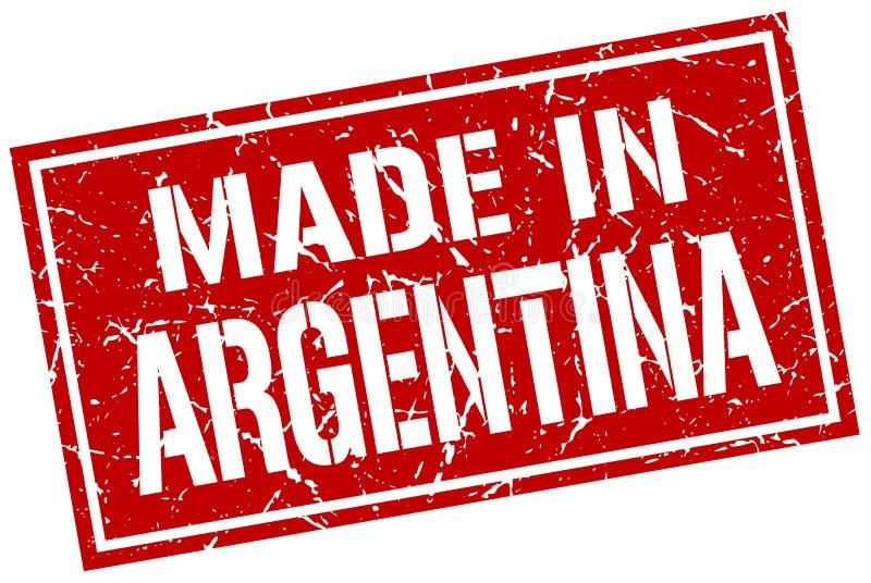 made in Argentina stamp vector illustration