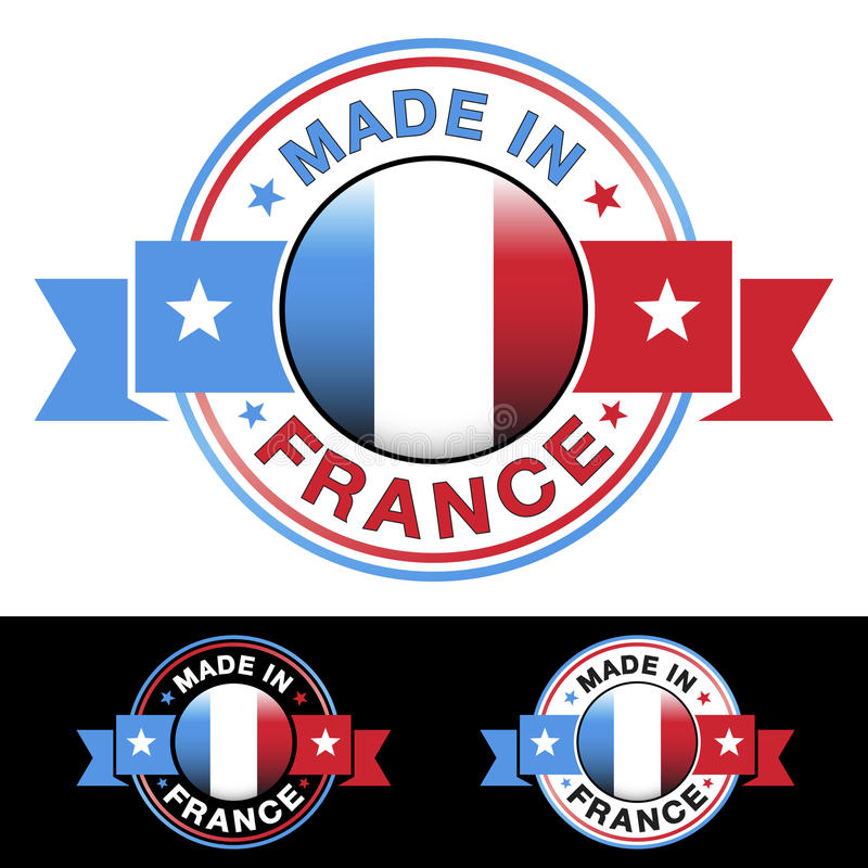 Made In France Badge Royalty Free Stock Photography