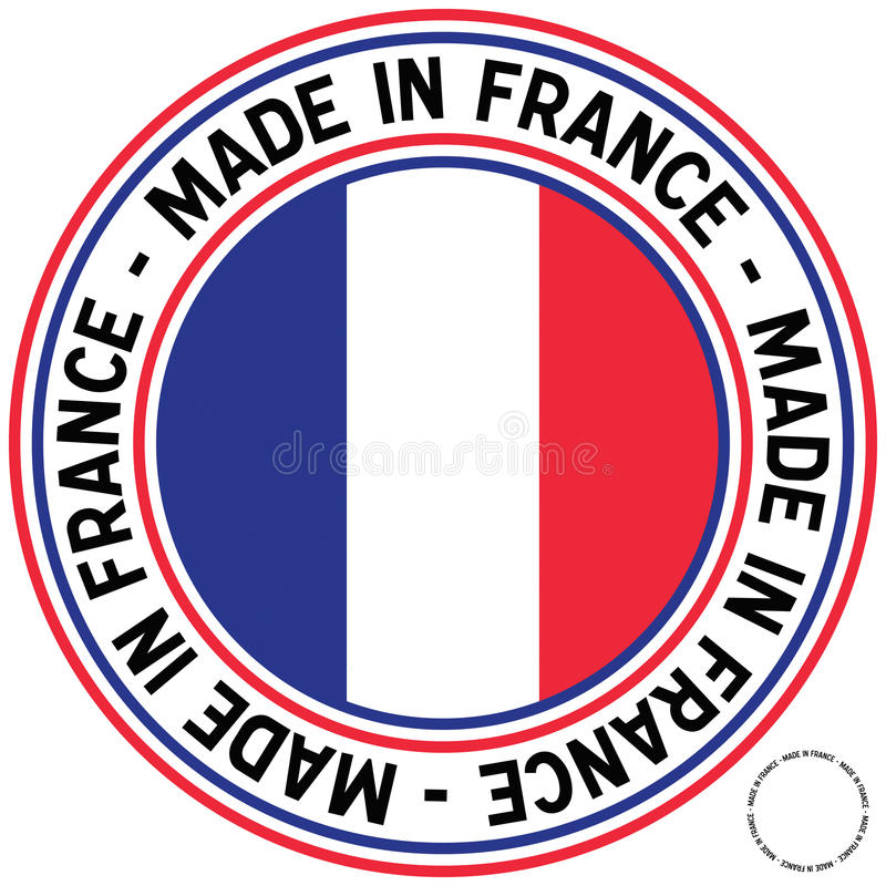 Download Made In France Circular Decal Royalty Free Stock Photos - Image: 13908568