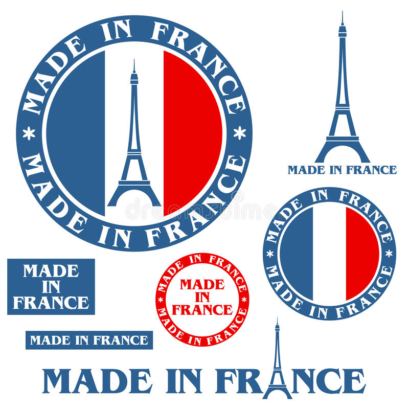Made In France royalty free illustration