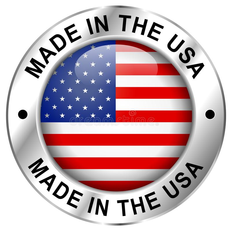 Free Made In Usa Icon Stock Photo - 107788010