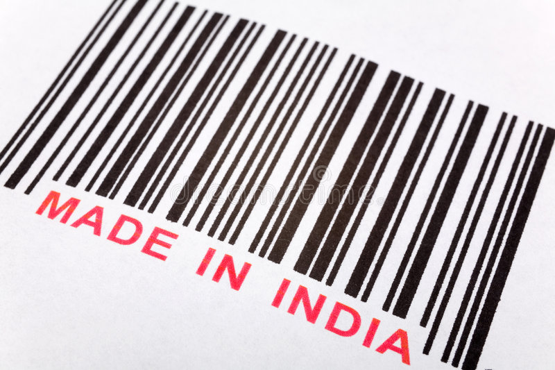 Download Made in India stock image. Image of factory, barcode, india - 4622975