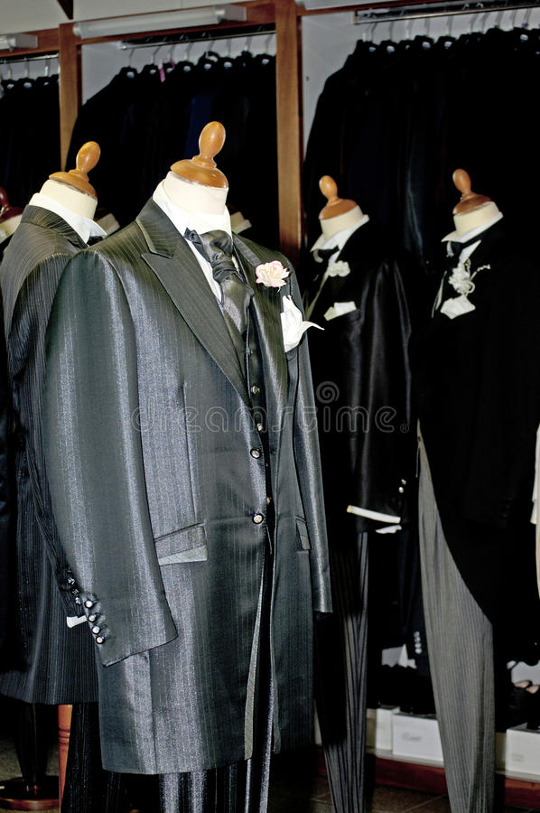 Download Made In Italy: Tailored Suits For Men Stock Photography - Image: 15054052