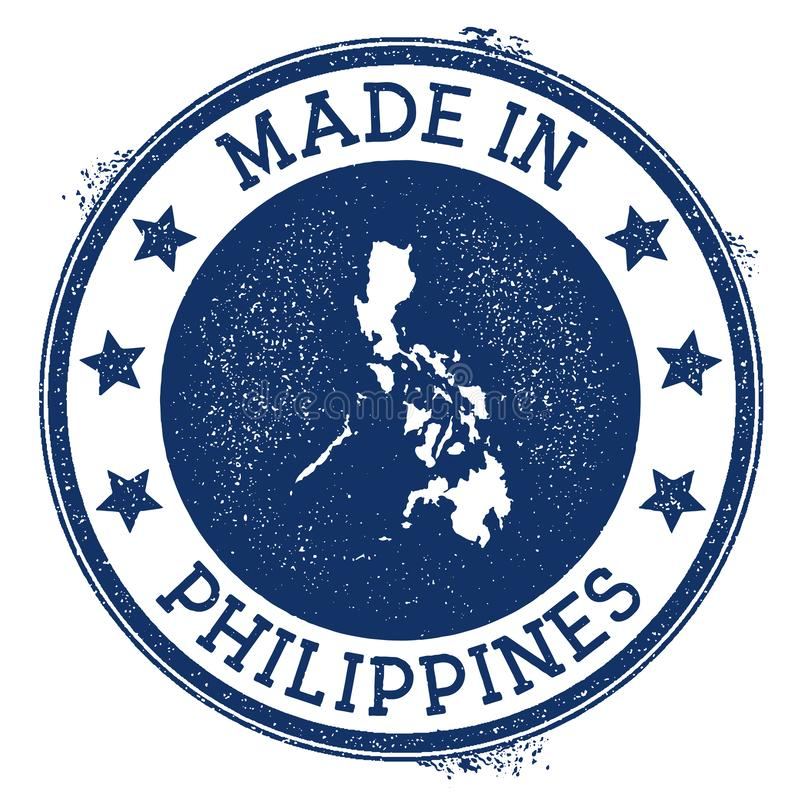 Made in Philippines stamp. vector illustration
