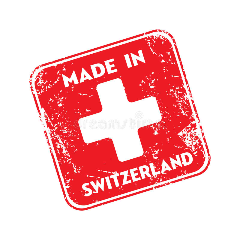 Made in Switzerland royalty free stock images