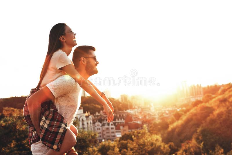 Made to love each other. stock photo