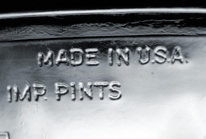 Download Made in USA - IMP. Pints stock photo. Image of creativity - 30068682