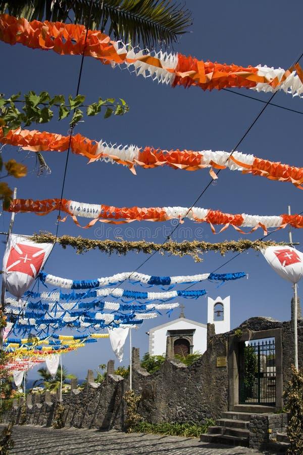 Madeira - aldea del sao Jorge imágenes de archivo libres de regalías