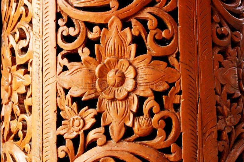 A madeira bonita decora imagens de stock royalty free