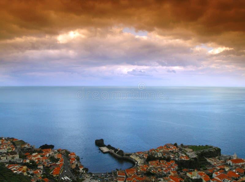Download Madeira Camara de lobos stock photo. Image of island, harbor - 2792560