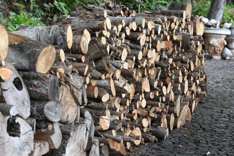 Madeira da madeira serrada fotos de stock royalty free