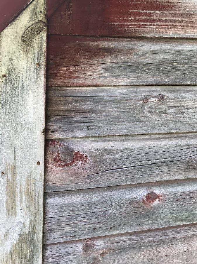 Madeira do celeiro da exploração agrícola fotografia de stock royalty free